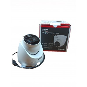 CAMARA AC DOMO TORRETA 2MP 2.8MM DH-HAC-HDW1209TLQN-LED-0280B