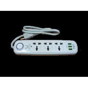 Regleta con puerto USB 904U