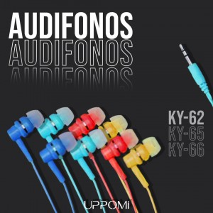 Audifonos Basicos KY-62