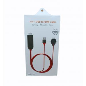 CABLE 3EN1 USB A HDMI CABLE L7-8
