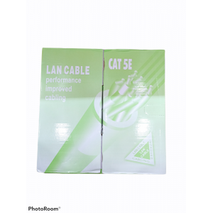 CABLE LAN CAT 5E 305MTS