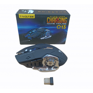 MOUSE INALAMBRICO T-WOLF GAMING Q13